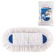 Насадка МОП для швабры-рамки ЛАЙМА карманы, 40×11 см, хлопок, длинный ворс, швабра 601464, для дома и офиса