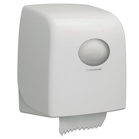 Диспенсер для полотенец в рулонах KIMBERLY-CLARK Aquarius, Slimroll, белый, полотенце 126123, АРТ. 6953