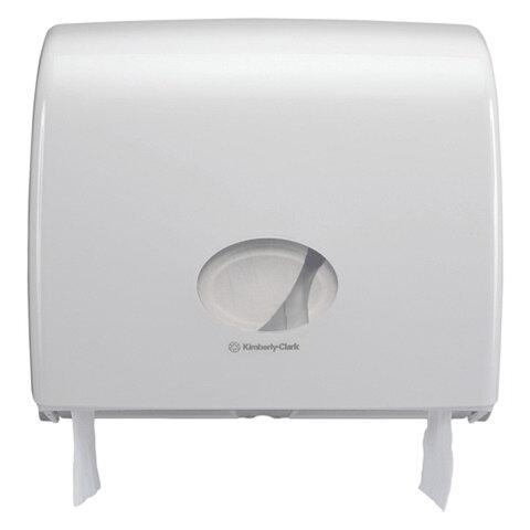 Диспенсер для туалетной бумаги KIMBERLY-CLARK Aquarius Миди Jumbo, белый, бумага 126126, АРТ. 6991