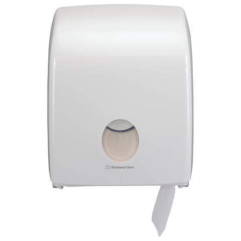 Диспенсер для туалетной бумаги KIMBERLY-CLARK Aquarius Мини Jumbo, белый, бумага 126127, АРТ. 6958