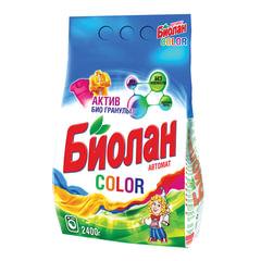 Стиральный порошок-автомат 2,4 кг, БИОЛАН Color (Нэфис Косметикс)