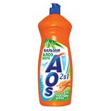 Средство для мытья посуды 1 л, AOS «Бальзам Алоэ Вера»