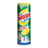 Чистящее средство БИОЛАН, 400 г, «Сочный лимон», порошок