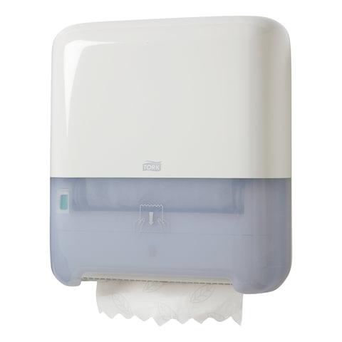 Диспенсер для полотенец в рулонах бесконтактный TORK (H1) Matic, белый, полотенце 126501, 551000