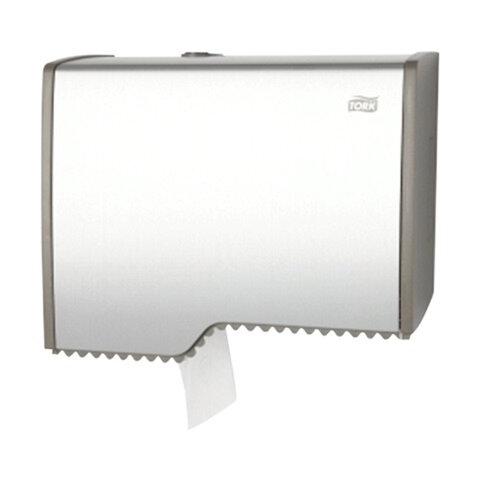 Диспенсер для туалетной бумаги TORK (T2) Aluminium, mini, бумага 124543, -545, -546, 126502, 455000