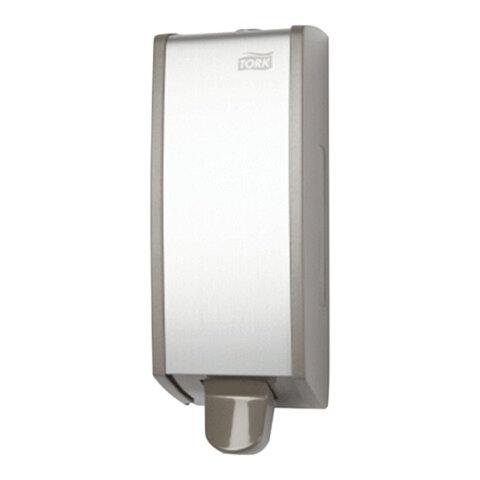Диспенсер для жидкого мыла TORK (Система S1) Aluminium, 1 л, картридж 600296, 452000