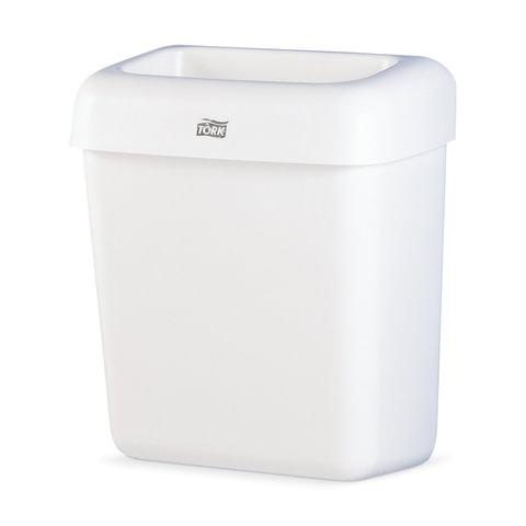 Контейнер для мусора, 20 л, TORK (Система B2), белый, 43×32,2х 20,5 см, без крышки, 226100