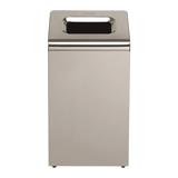 Контейнер для мусора, 50 л, KIMBERLY-CLARK, нержавеющая сталь, 64,9×35×24 см, без крышки