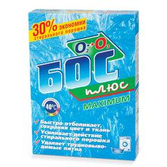 Средство для отбеливания и чистки тканей 600 г, БОС плюс «Maximum», порошок