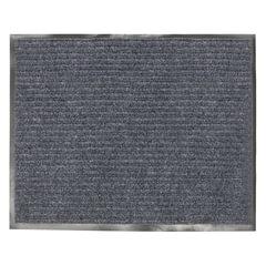 Коврик входной ворсовый влаго-грязезащитный VORTEX, 120×150 см, толщина 7 мм, серый