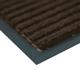 Коврик входной ворсовый влаго-грязезащитный VORTEX, 90×120 см, толщина 7 мм, коричневый