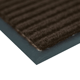 Коврик входной ворсовый влаго-грязезащитный VORTEX, 120×150 см, толщина 7 мм, коричневый