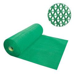 Коврик входной противоскользящий VORTEX «Zig-Zag», 90×1000 см, толщина 5 мм, ПВХ, зеленый