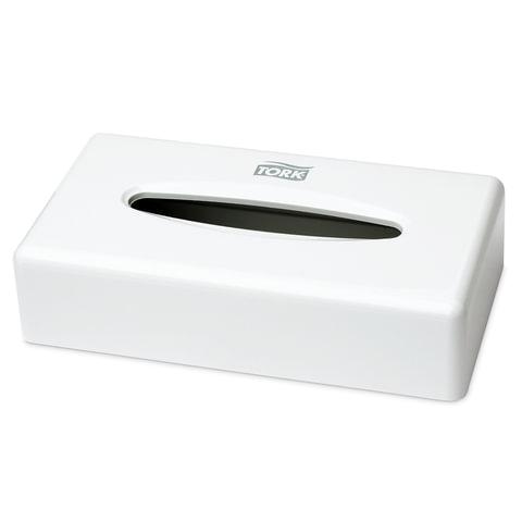 Диспенсер для косметических салфеток TORK (Система F1), настольный, белый, 270023