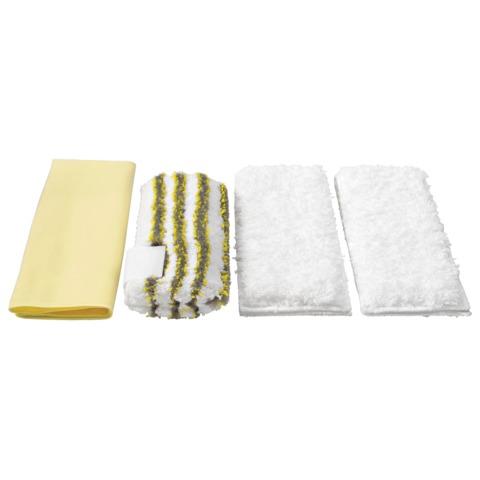 Салфетки для ванной KARCHER (КЕРХЕР), комплект 4 шт., микроволокно, 2.863-171.0