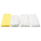 Салфетки для кухни KARCHER (КЕРХЕР), комплект 4 шт., микроволокно, 2.863-172.0