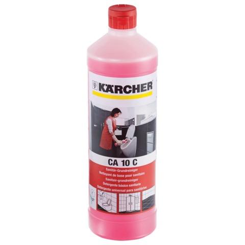 Средство для уборки санитарных помещений 1 л, KARCHER (КЕРХЕР) CA10C, концентрат, 6.295-690.0/677.0