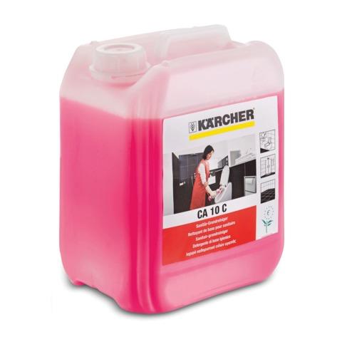 Средство чистящее KARCHER (КЕРХЕР) CA10C, для очистки санитарных помещений, 5 л, 6.295-692.0/<wbr/>678.0