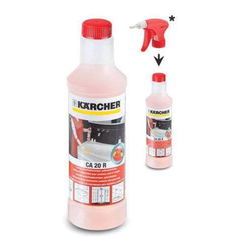 Средство чистящее KARCHER (КЕРХЕР) CA20R, для регулярной уборки санитарных помещений, 0,5 л, БЕЗ РАСПЫЛИТЕЛЯ, 6.295-706/<wbr/>685.0