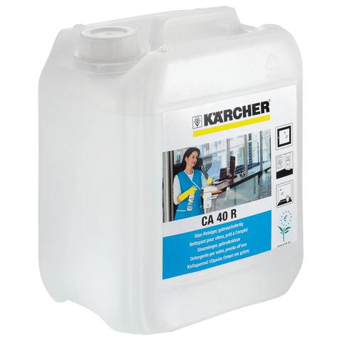 Средство чистящее KARCHER (КЕРХЕР) CA40R, для стекол, 5 л, 6.295-712.0/<wbr/>6.295-688.0