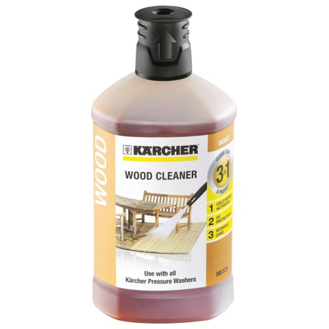 Средство KARCHER для чистки древесины «3 в 1», для минимоек, 1 л, 6.295-757.0