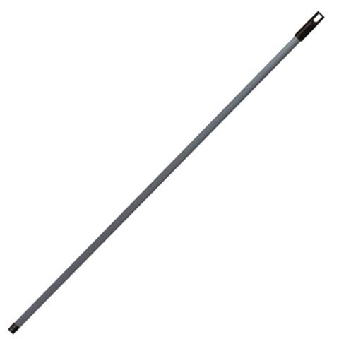 Черенок универсальный, длина 110 см, металлопластик, серый (щетки 601321, -323; 600669, -670, метла 601828)