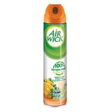 Освежитель воздуха аэрозольный AIRWICK (Эйрвик), 240 мл, «Анти-Табак Апельсин и бергамот»