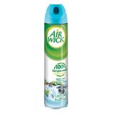 Освежитель воздуха аэрозольный AIRWICK (Эйрвик), 240 мл, «Анти-Табак Свежесть Водопада»