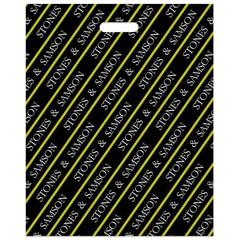 Пакет с вырубной ручкой ПВД, 50×40 см, «Камни», 45 мкм