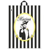 Пакет с петлевой ручкой ПВД, 44×36 см, «Марина», 43 мкм