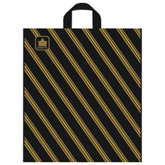 Пакет с петлевой ручкой ПНД, 44×40 см, «Золотая полоса», 43 мкм