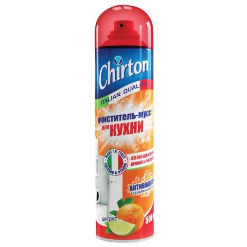 """Средство для кухни 500 мл, CHIRTON (Чиртон) """"Цитрус"""", универсальный очиститель-мусс"""