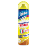 Полироль для мебели CHIRTON (Чиртон), антистатическая формула, 500 мл, с воском, аэрозоль