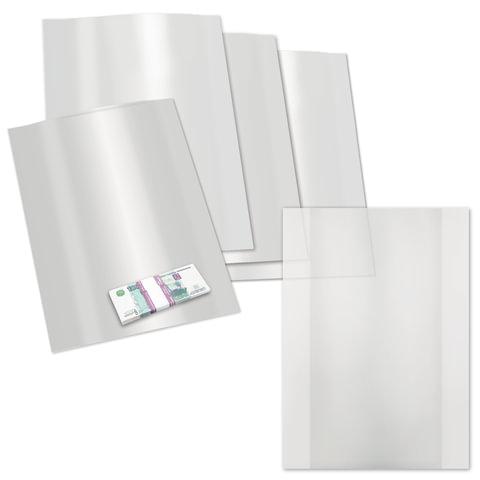 Пакеты для безвакуумной упаковки купюр, комплект 500 шт., 300х420 мм, 1 слой, 80 мкм