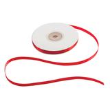 Лента обвязочная атласная для прошивки документов, ширина 6 мм, 4×25 м (100 м), +/<wbr/>- 5%, красная