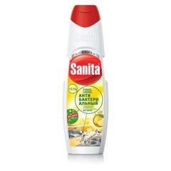 Средство для кухни 500 г, SANITA (Санита) «Сила лимона», гель с антибактериальным эффектом