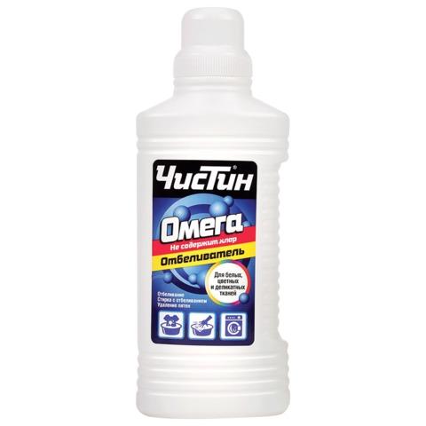 Средство для отбеливания и чистки тканей 950 г, «Белизна» ЧИСТИН «Омега», не содержит хлор