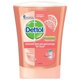 Картридж с жидким мылом DETTOL (Детол), 250 мл, «Грейпфрут», антибактериальный, диспенсер 601998