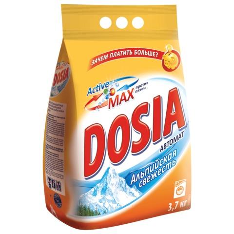 """Стиральный порошок-автомат 3,7 кг, DOSIA (Дося) """"Альпийская свежесть"""""""