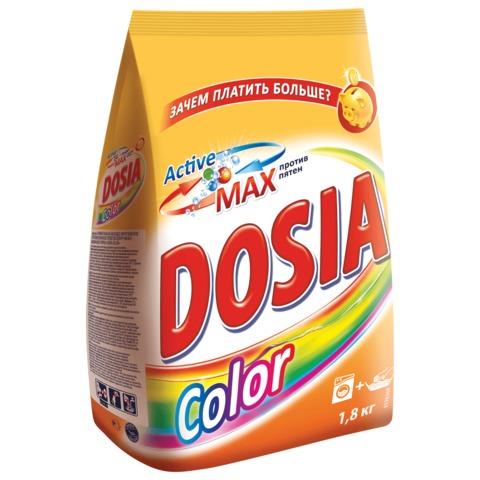 Стиральный порошок для всех типов стирки 1,8 кг, DOSIA Color (Дося Колор)
