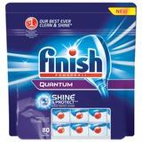 Средство для мытья посуды в посудомоечных машинах FINISH QUANTUM (Финиш Квантум), 80 шт., «PowerBall», таблетки