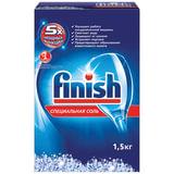 Средство для мытья посуды в посудомоечных машинах FINISH (Финиш), 1,5 кг, соль от накипи