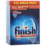 Средство для мытья посуды в посудомоечных машинах FINISH «All in 1» (Финиш), 100 шт.