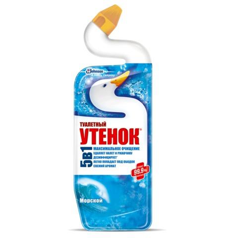 "Средство для уборки туалета 750 мл, ТУАЛЕТНЫЙ УТЕНОК ""Морской"""