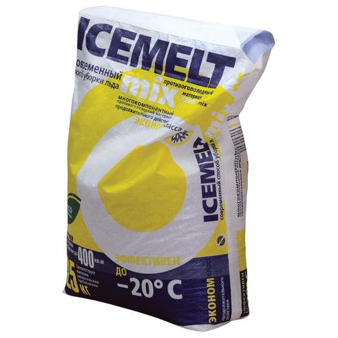 Реагент антигололедный 25 кг, ICEMELT Mix («Айсмелт Микс»), до -20С, мешок