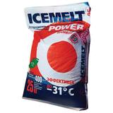 Реагент антигололедный 25 кг, ICEMELT Power («Айсмелт Пауэр»), до -31С, мешок