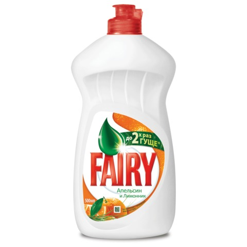 Средство для мытья посуды FAIRY (Фейри), 500 мл, «Апельсин и лимонник»