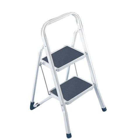 Лестница-стремянка ARNO, 46 см, 2 прорезиненные ступени 20х30 см, стальная, нагрузка до 150 кг