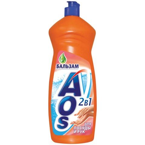 Средство для мытья посуды AOS, 1000 мл, «Бальзам»