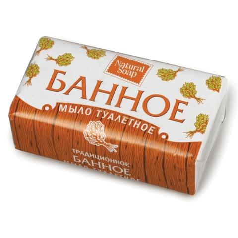 """Мыло туалетное 180 г, """"Банное"""" (Нэфис Косметикс),"""